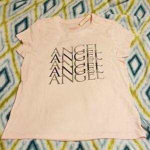 Brand NWT Victoria Secret Angel tshirt